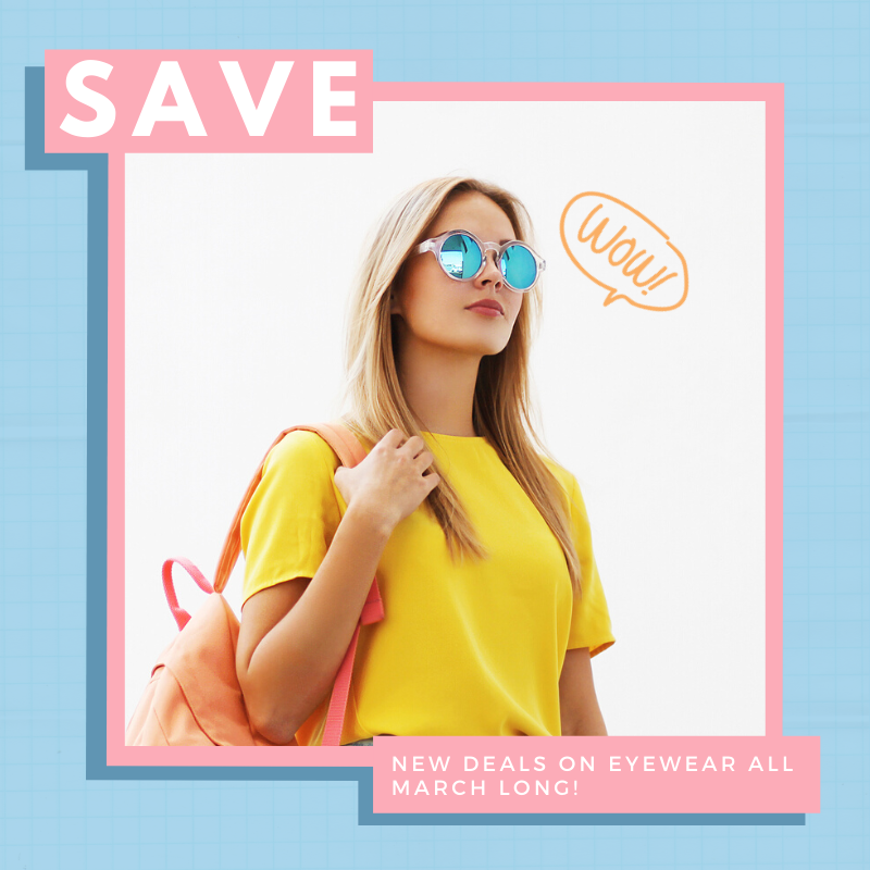 Save big on new glasses!
